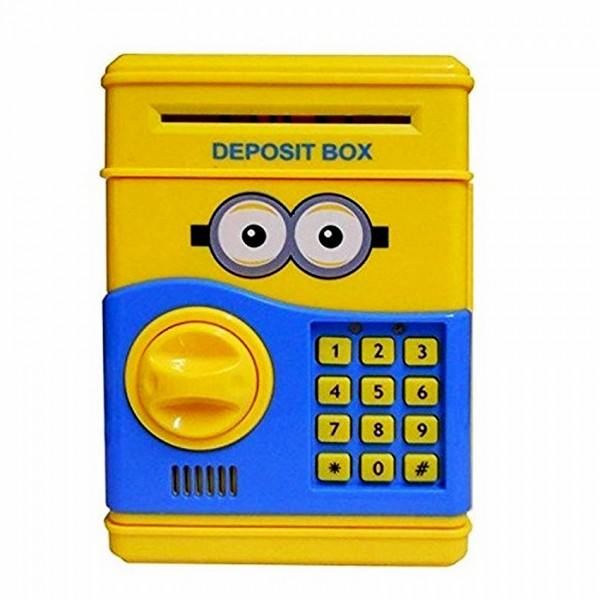 Minion Safe with Electronic Lock
