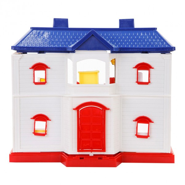 COUNTRY DOLL HOUSE - 24 PIECES