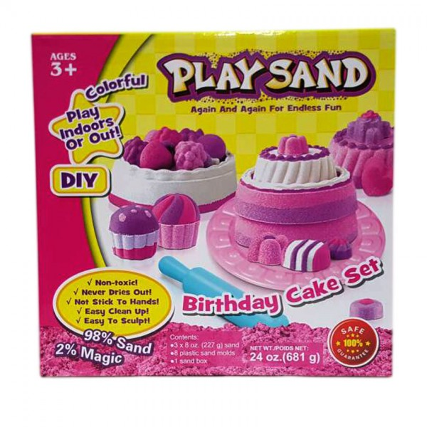 Play With Sand Cake