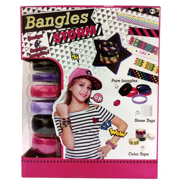Girls Fashion Designer - 6 Bangles Set