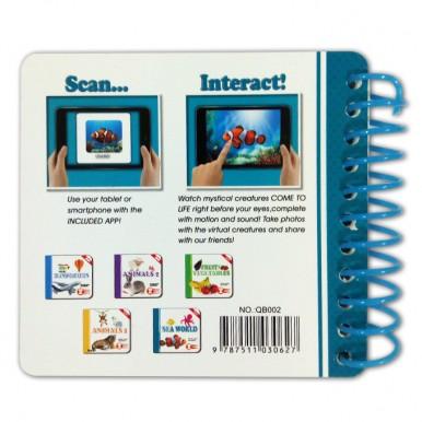 Sea World Animals - Learning Card Book