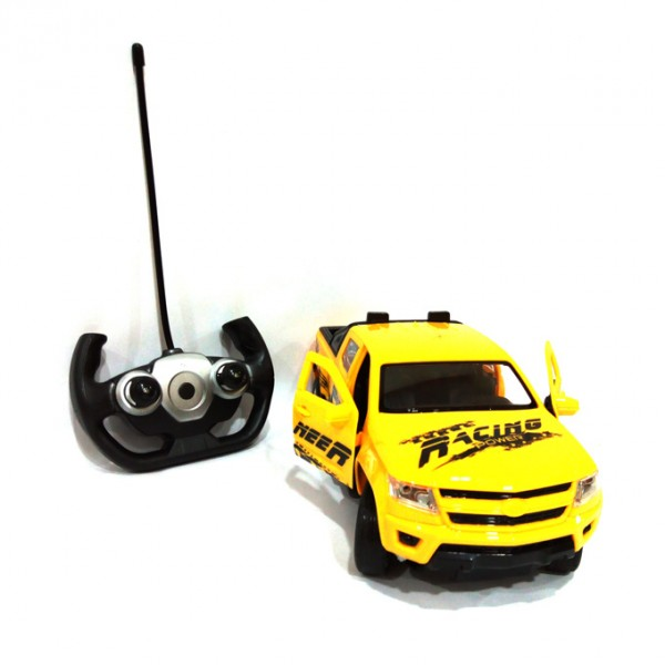 RC  RACING TRUCK  5 CHANNEL  YELLOW