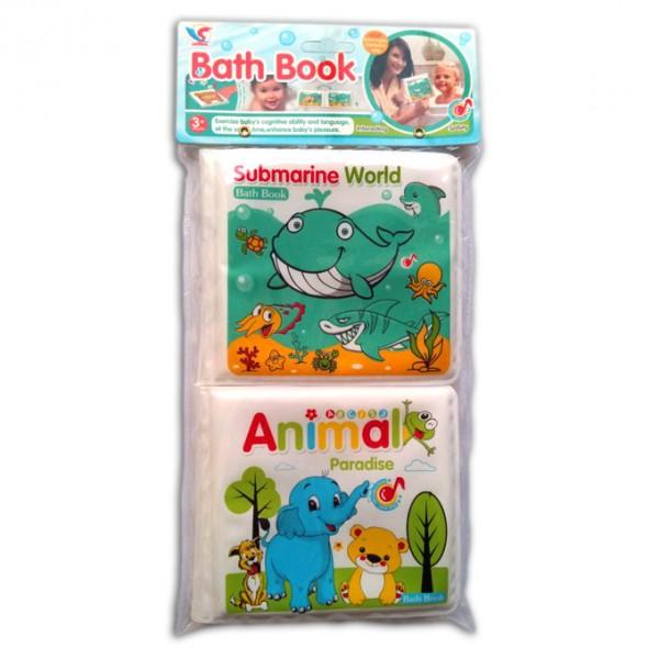 SEA AND ANIMALS PLASTIC BOOK