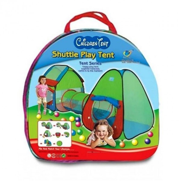 SHUTTLE TUNNEL PLAY TENT HOUSE