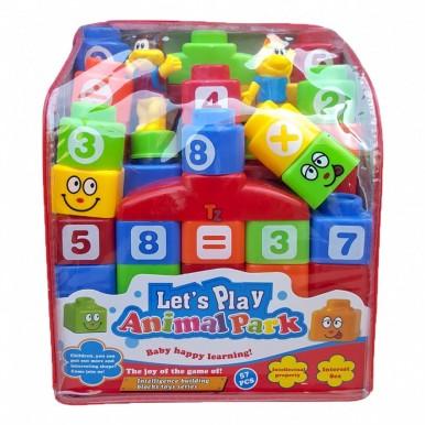 LETS PLAY ANIMAL PARK BLOCKS for KIDS
