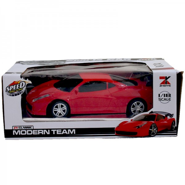 RC FERRARI CAR for KIDS - RED