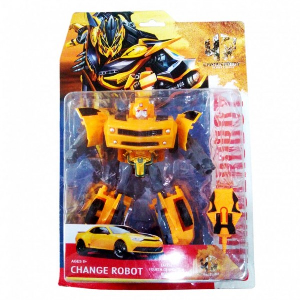 TRANSFORMERS TOY for KIDS - BUMBLEBEE - WITH EQUIPMENT