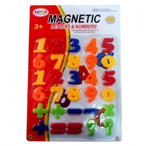NUMBER MAGNETS LARGE