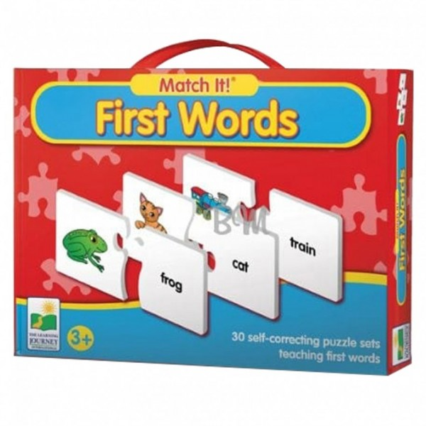 MATCH IT - FIRST WORDS PUZZLE