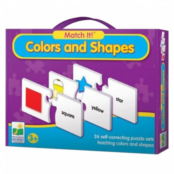 MATCH IT - COLORS AND SHAPES