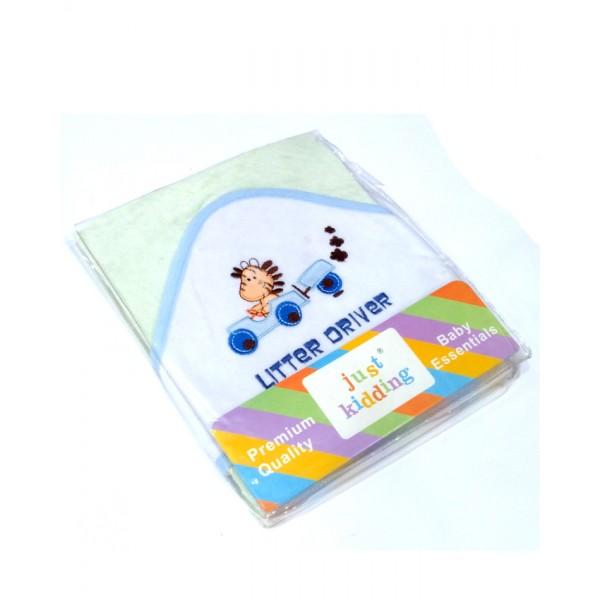 Hooded Bath Towel - Car Design