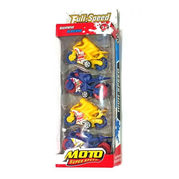 Moto Super speed 4 pcs Set - 666-4