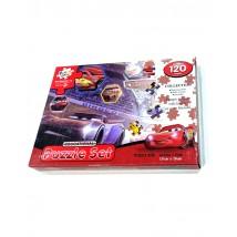 Disney Cars Educational Puzzle Set 120 pcs