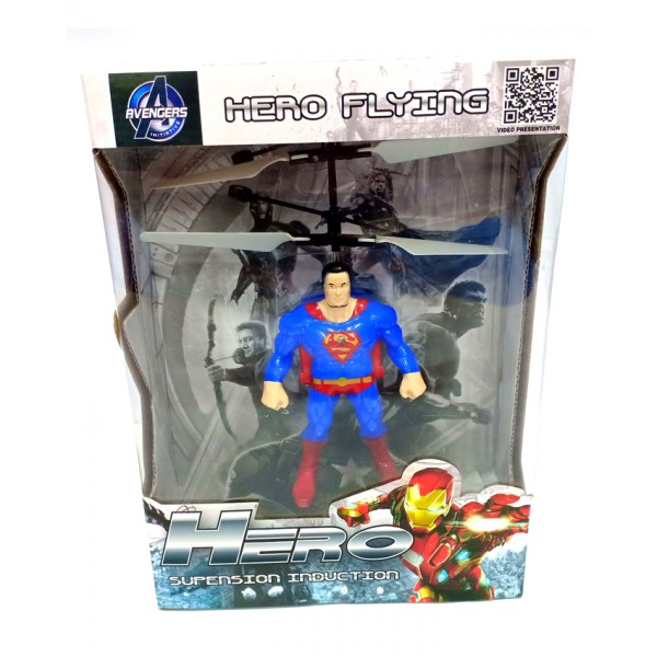 Superman Flying Helicopter Toy