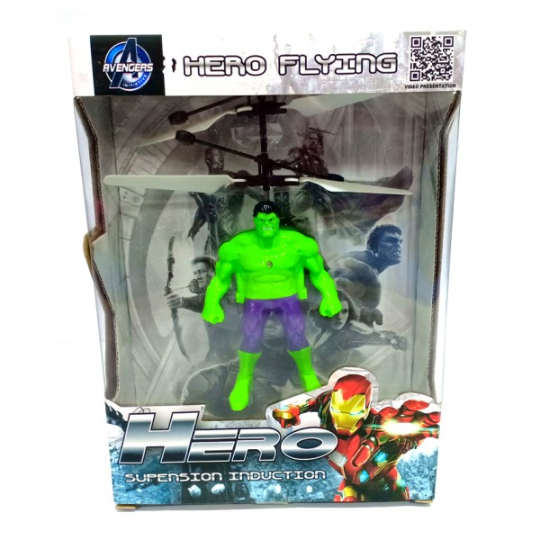 Hulk Flying Helicopter Toy