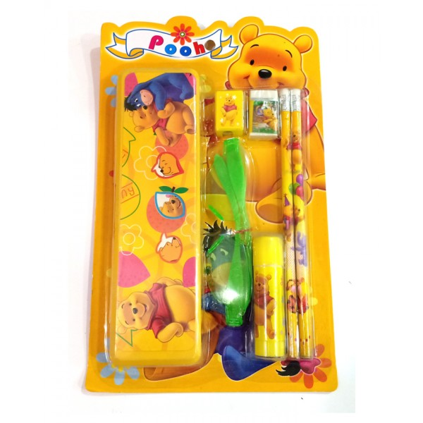 Stationery Box with stationery - Pooh Design