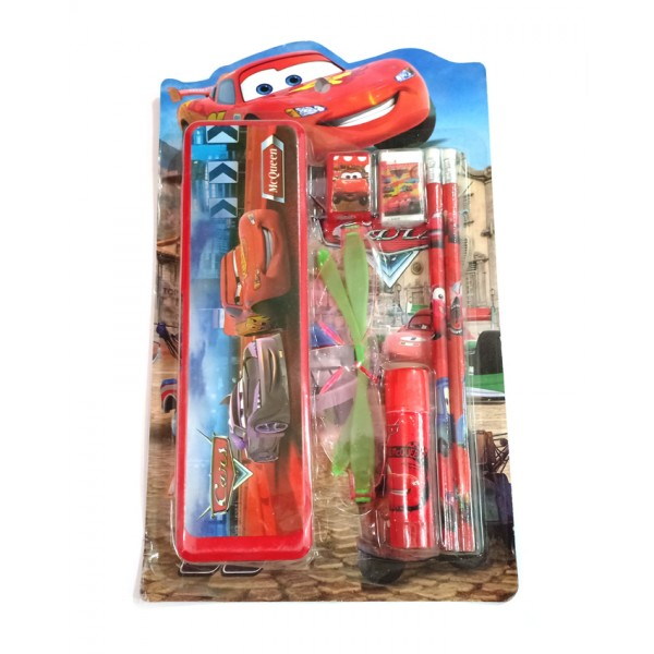 Stationery Box with stationery - Cars Design