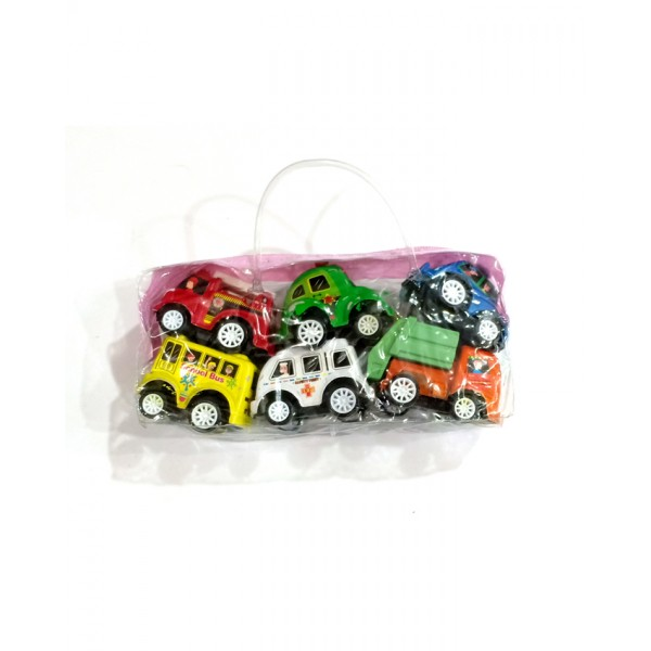 Cars Collection 6 pcs Toy Cars Set for Kids