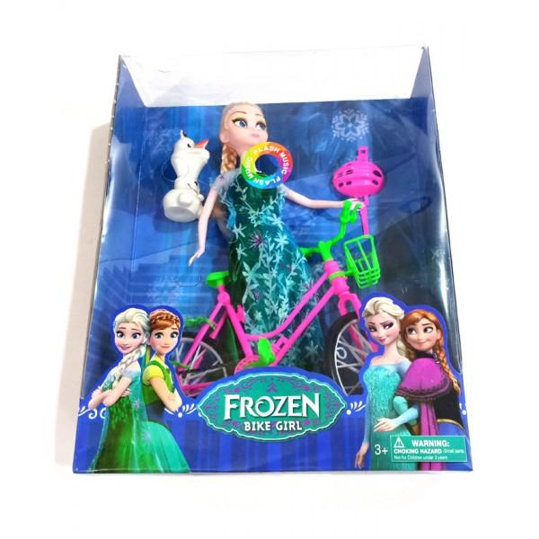 Frozen Bike Girl Doll - 311-C