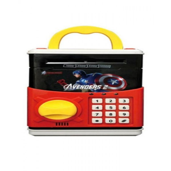 Kids ATM Bank Toy - Captain America