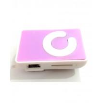 Mini MP3 Player - Plastic - Purple