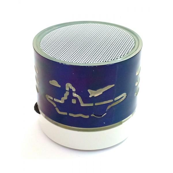 Mini Wireless Speaker in Blue Color