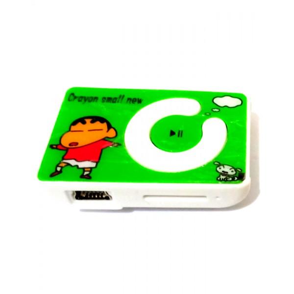 Mini Mp3 Player - Plastic - Cartoon Design