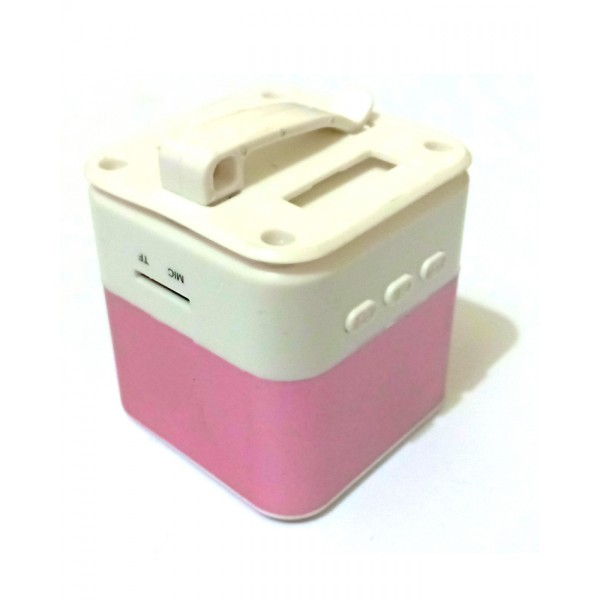 Mini Bluetooth Texture Speaker - Pink