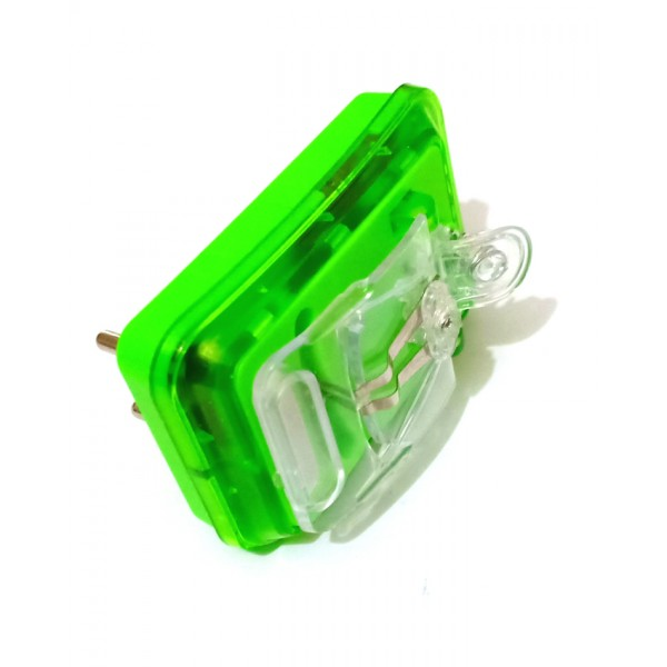 Portable Mobile Battery LED Chargers - Green