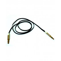 Audio Aux Cable 3.5 mm For Stereo,Headphone & Car Speakers - Black