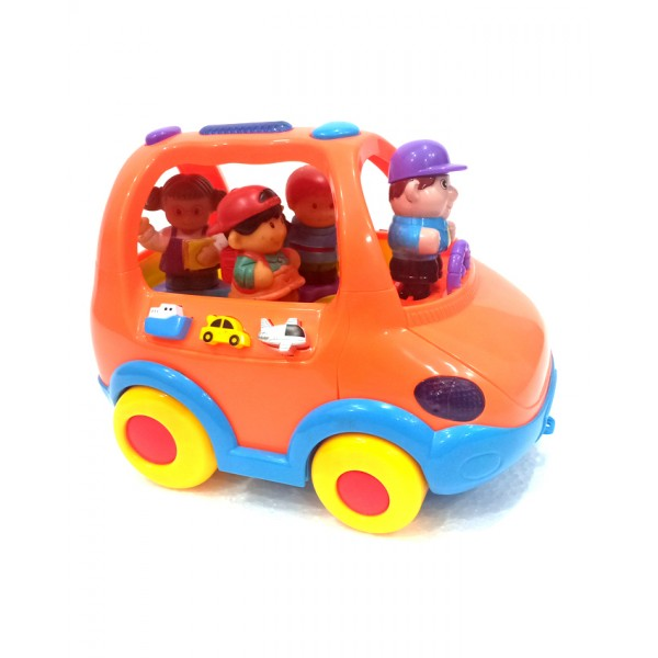 Baby School Bus - Orange