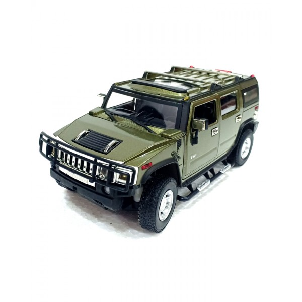 XLG Die Cast Car - Hummer H2 - Green