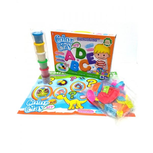 Color Clay DIY Alphabet Set - 728F