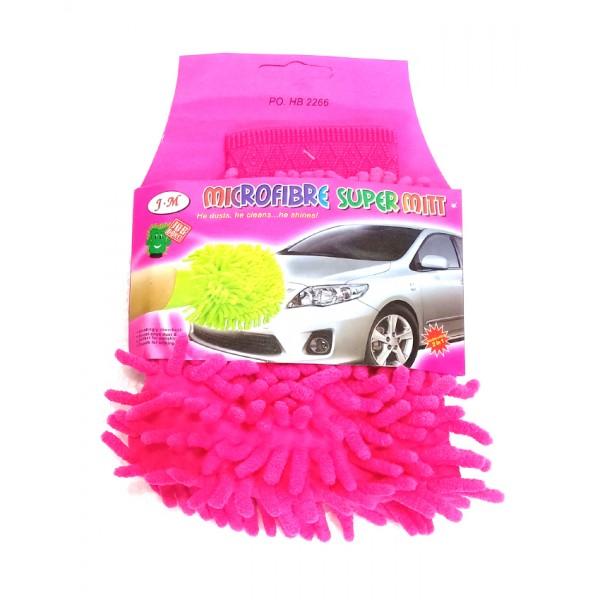Microfibre Super Mitt - Pink
