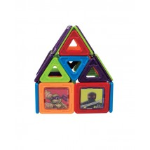 TMNT Magic Magnetic Building Toy Set for Kids