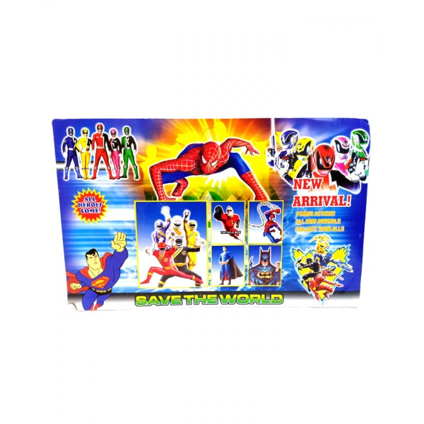 Superheroes Action Figures 5 pcs Set for Kids