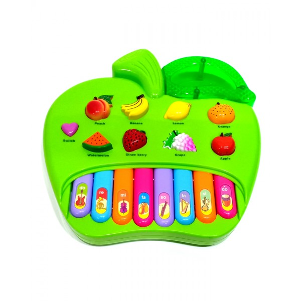 Musical Apple Piano - 5003A - Green