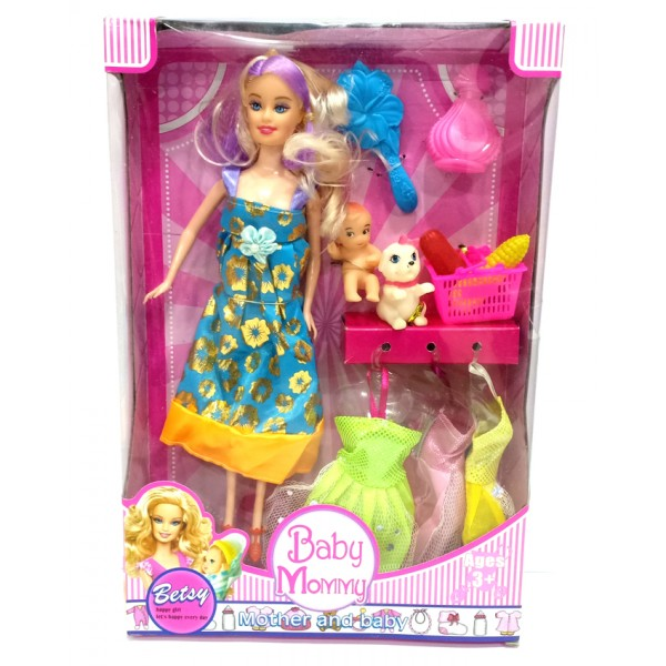 Betsy Baby Mommy Doll with Accessories - 1188
