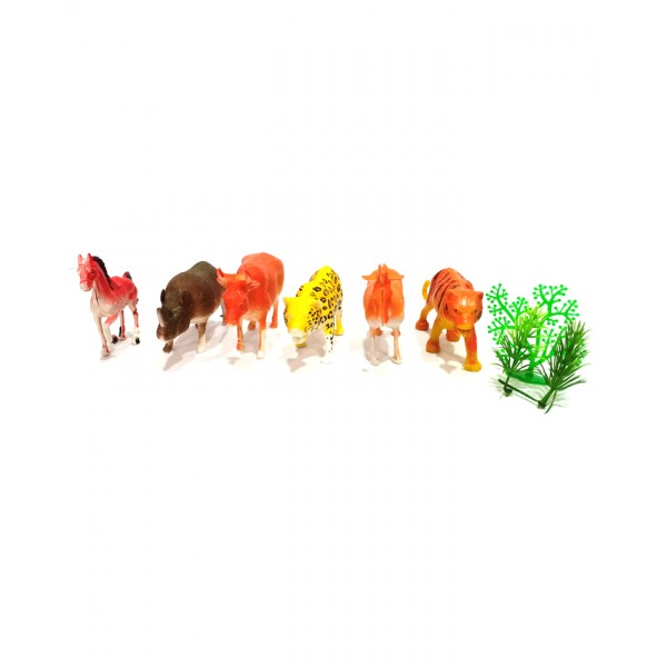 Fun Animal Toys 6 pcs Set