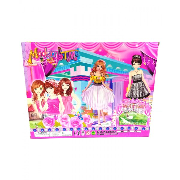 Modern Time Doll with Accessories - KL868A