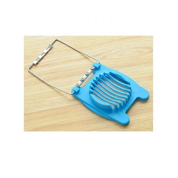 Creative Multifunctional Egg Slicer - Single - Blue