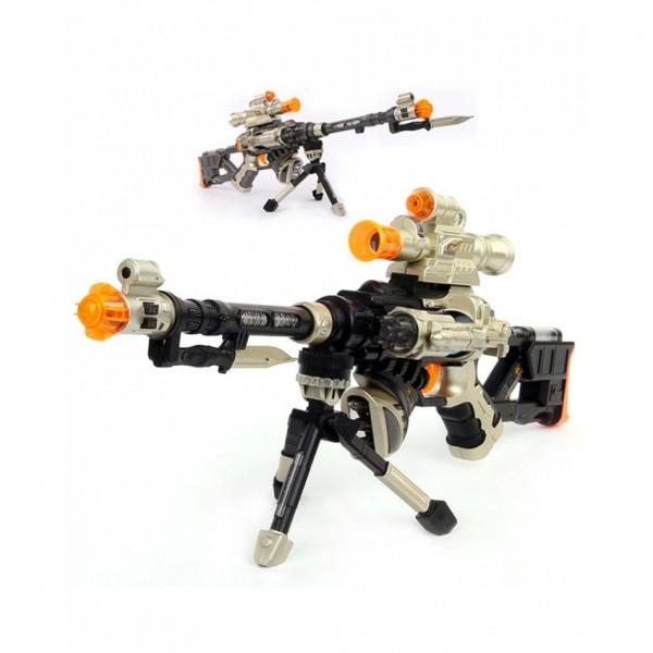 Electronic Snow Leopard Sniper Rifle DF-18218B