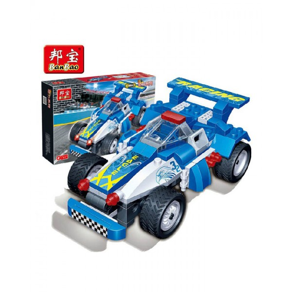 Banbao Turbo Power Car 128 pcs - 8622
