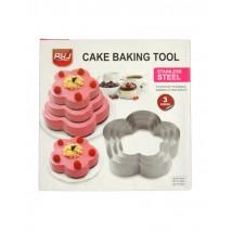 Cake Baking Tool 3 Pcs Set