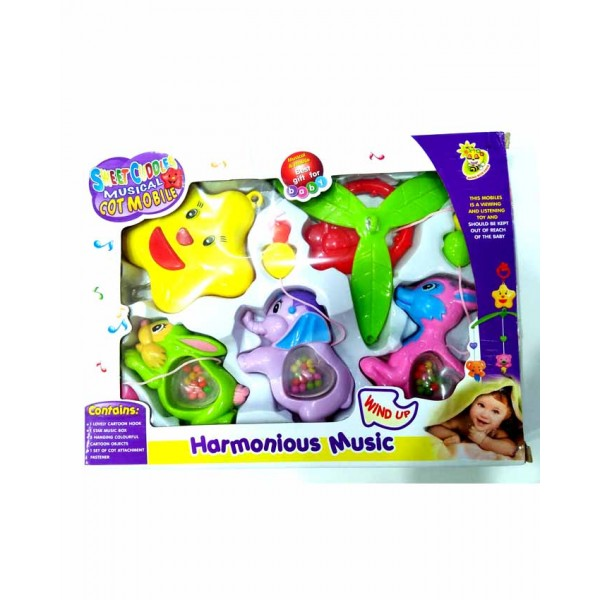 Sweet Cuddles Musical Cot Mobile - D058