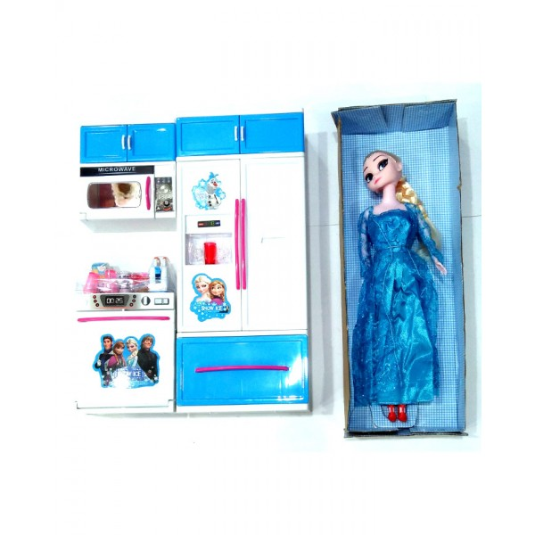 Frozen My Modern Kitchen Playset with Doll - Small