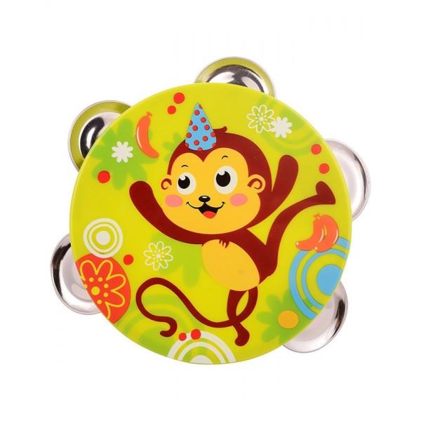Timbrel Music Toy - Monkey - 3102B