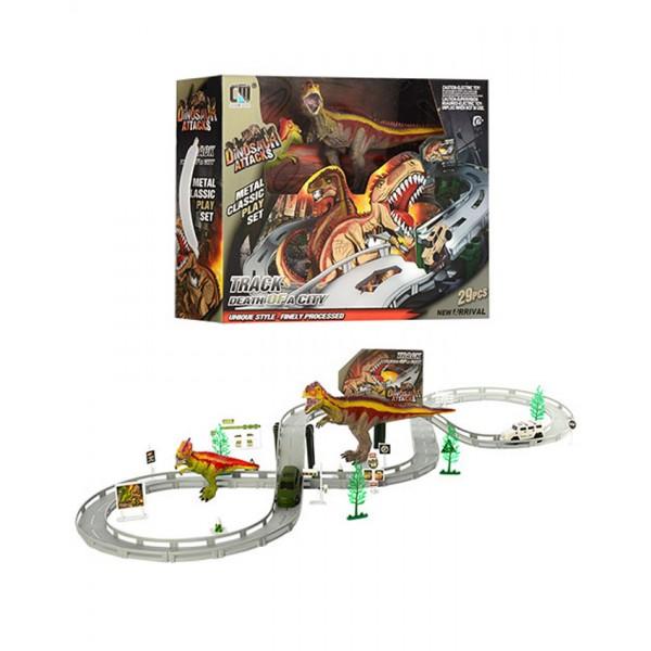Dinosaur City Metal Track Set - CM558-2