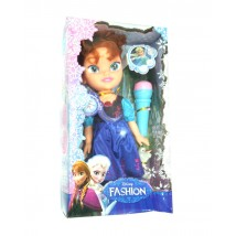 Forzen Anna Doll with Microphone - 368