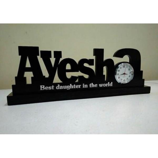 Customized Acrylic Table clock